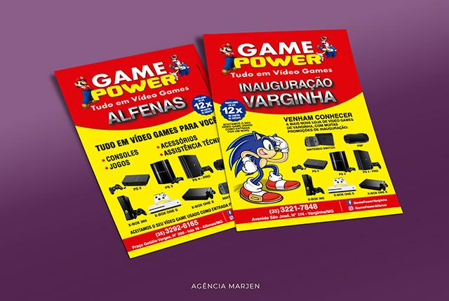Flyer Gamer Power - Marjen