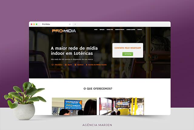 Web Site - desenvolvimento - Marjen